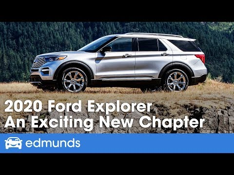 2020 Ford Explorer Review & First Drive – An Exciting New Chapter | Edmunds