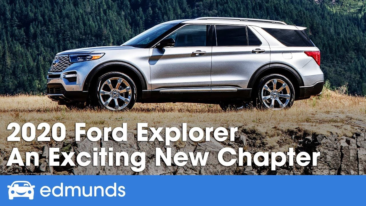 New Ford Explorer >> 2020 Ford Explorer Review First Drive An Exciting New Chapter Edmunds