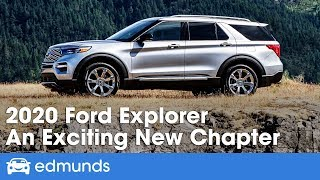 2020 Ford Explorer Review & First Drive   An Exciting New Chapter | Edmunds