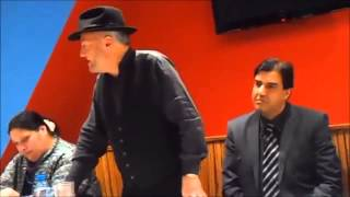 George Galloway launches Respect general election campaign in Halifax - 24th March 2015
