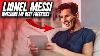 Lionel messi reacts to my best freekicks!  | by bullfootball
