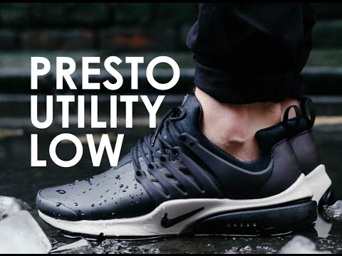 save off 8ecc3 4e9fa 4K Acronym Nike Presto Utility LOW Unboxing Flyknit ultra Review