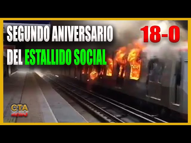 CHILE 🇨🇱: SEGUNDO ANIVERSARIO DEL ESTALLIDO SOCIAL 18-O