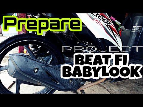 Modif Beat FI BabyLook (Beli Bahan Modif) | Babylook's Project Part 1
