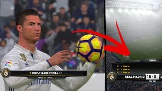 EXPERIMENT How many goals can you score with Ronaldo in one match of Fifa 17
