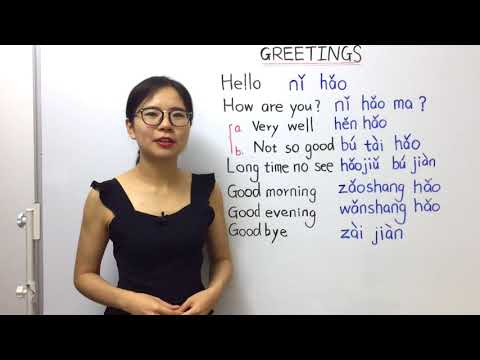 How to Greet People in Mandarin Chinese | Beginner Lesson 4 | HSK 1