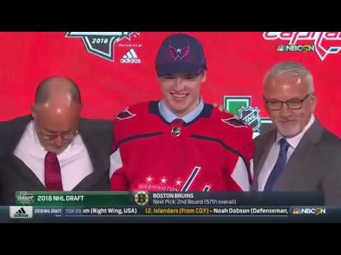 Capitals Draft Alexander Alexeyev at the 2018 NHL Draft