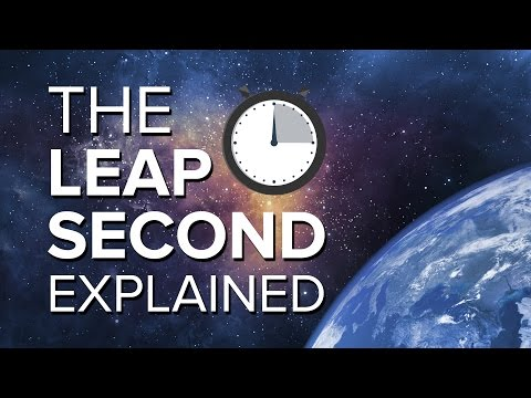 The Leap Second Explained | Space Time | PBS Digital Studios