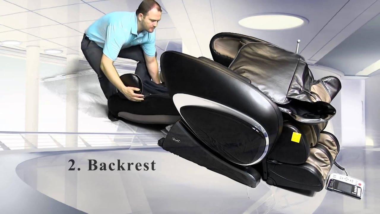 OSAKI OS 4000 Massage Chair NEW Installation bined