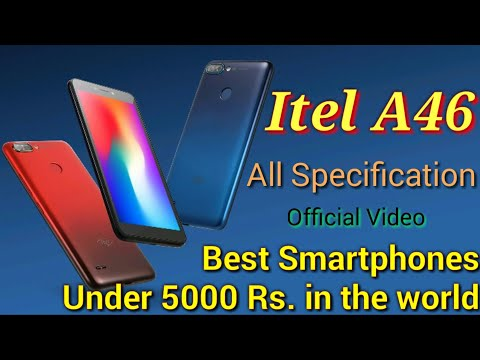Itel A46 Full Review/ Itel A46 - Best Smartphone under 5000/ Itel A46 First Look/ Itel A46 Features.