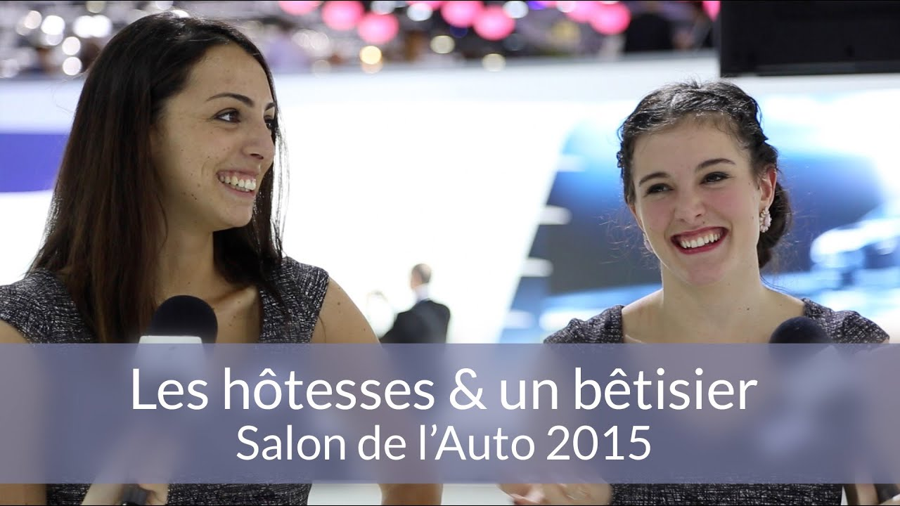 Les h tesses un b tisier salon de l 39 auto de gen ve for Salon de l auto hotesse