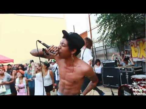 Cerebral Ballzy - On the Run @ JellyNYC Rock Yard