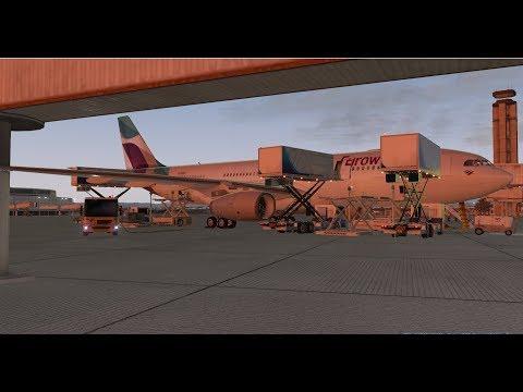 X-Plane 11 | IVAO | Las Vegas - Köln Long Haul Test Part 1 | Eurowings Airbus A330 [GER | ENG]