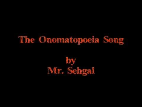 The Onomatopoeia Song Youtube