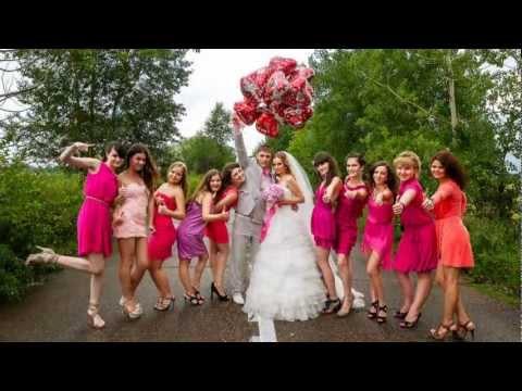Наша РОЗОВАЯ Свадьба!!))) фото-фильм