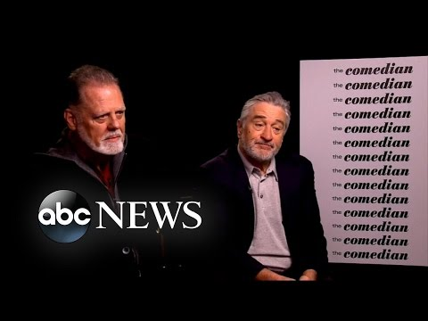 Robert DeNiro, Jon Voight Talk Trump