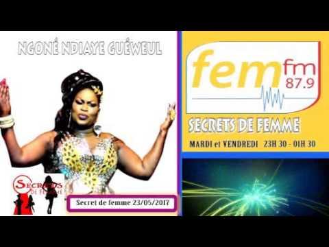 Secret de femme du 23/05/2017 sur FEM FM 87.9