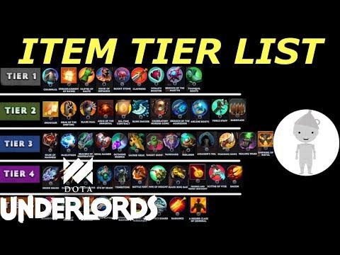 Unist Tier List 2020.Underlords Item Tier List After Big Update Dota Underlords