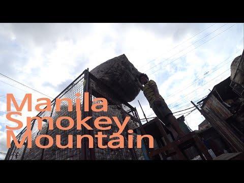 "Manila ""Smokey Mountain"" Slum (Philippine 2017)"