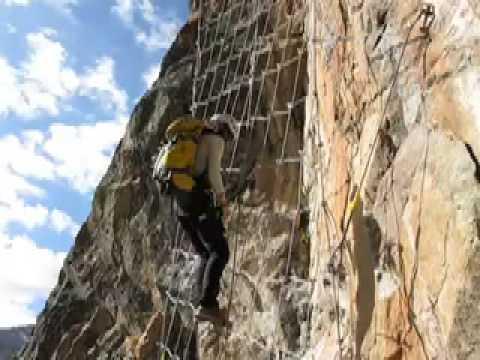 Klettersteig La Resgia : Klettersteig la resgia youtube
