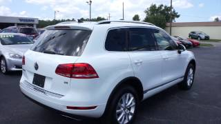 2014 Volkswagen Touareg V6 Sport Walkaround, Start up, Tour and Overview