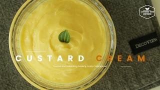 맛있는~ 커스터드 크림 만들기 : Custard cream Recipe : カスタードクリーム -Cookingtree쿠킹트리