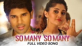 Okka Kshanam Full Video Songs - So Many So Many Full Video Song   Allu Sirish, Surbhi, Seerat Kapoor