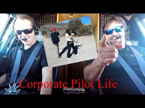 Gulfstream G-IV  Las Vegas - ATC Watches Our YouTube Channel!! - Pilot VLOG 51