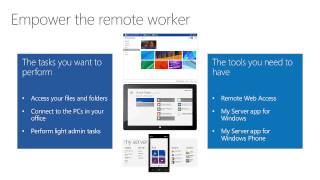 Windows Server 2012 R2, The Essentials Experience Overview, Module 1