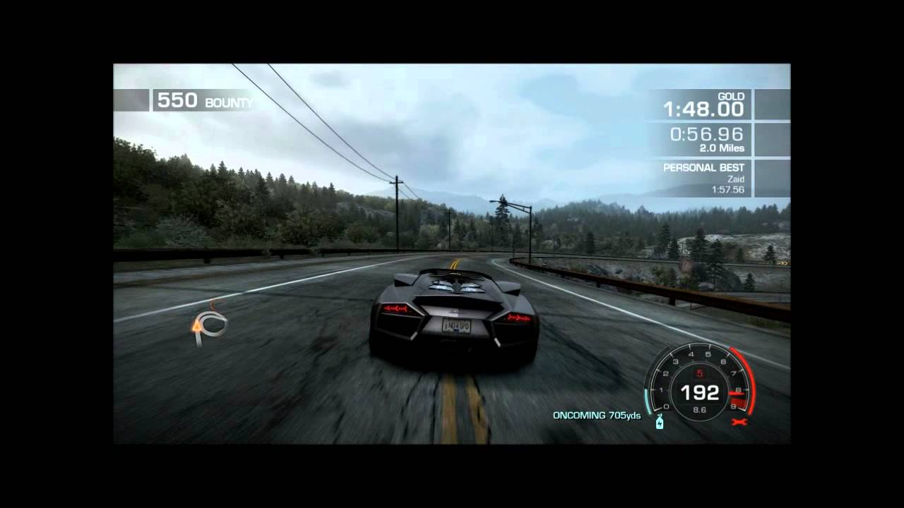 Need For Speed Hot Pursuit Drifting Map Gameplay Youtube