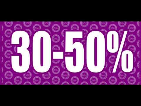 В связи с открытием обувного магазина SALI, объявляются 30 – 50 %скидки на всю коллекциюобуви. Преобретенная...