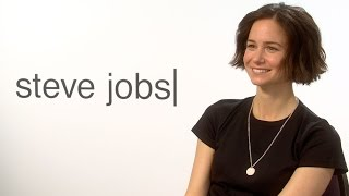 Katherine Waterston on 'Steve Jobs' and Collaborating with Aaron Sorkin