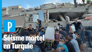 Un puissant séisme frappe la côte turque
