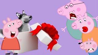 #Мультик Свинка Пеппа.#Пеппе подарили щенка Хаски #новая серия Пеппы