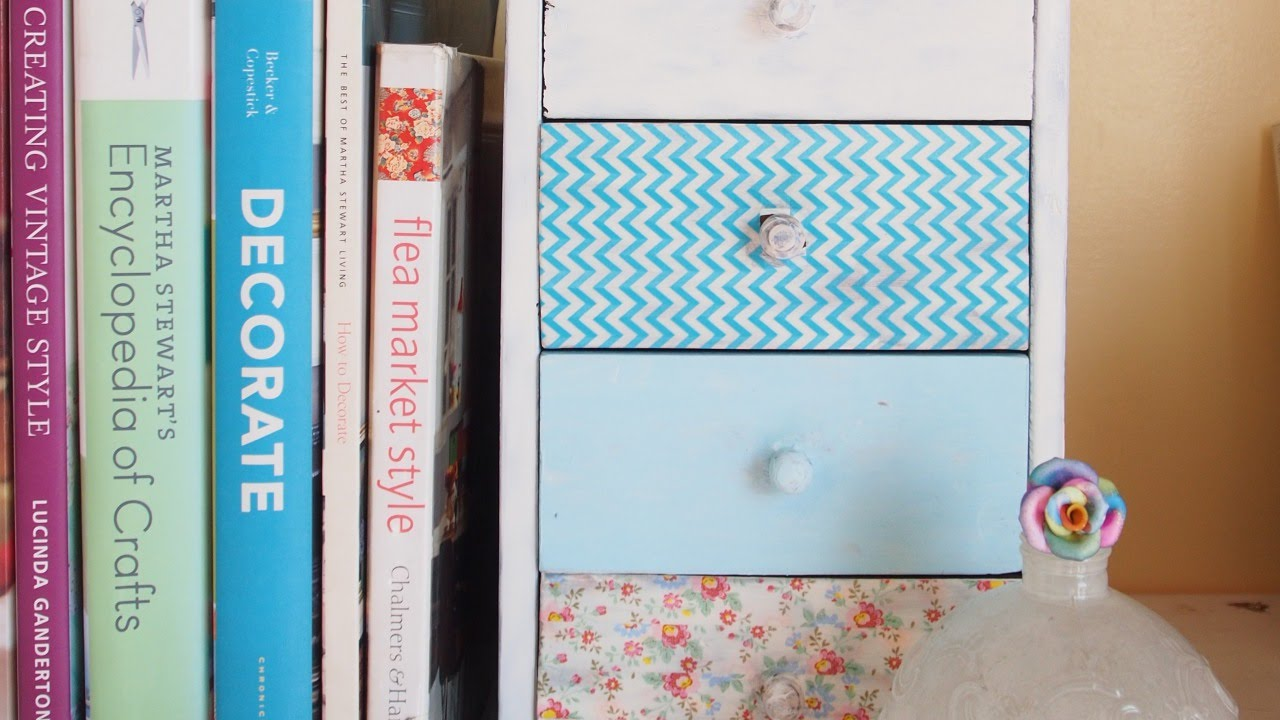 Popolare How To Create Revamped Mini Drawers with Washi Tape - DIY Home  HK02