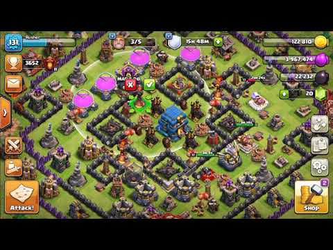 Clash of Clans: #3 New Upgrade HALLOWEEN | New upgrade Th10  mine gold and elixir