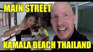 MAIN STREET KAMALA BEACH THAILAND V155