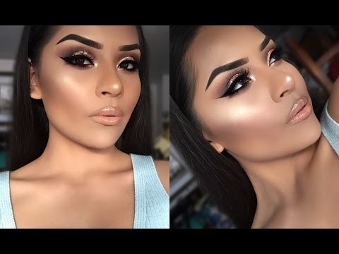 Glowing Spring Night Makeup Look | Sarahy Delarosa ✨