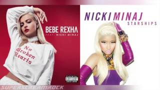 """No Broken Starships"" Mashup of Nicki Minaj/Bebe Rexha"