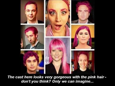 The Big Bang Theory In Belarus Kaley Cuocos Pink Hair And