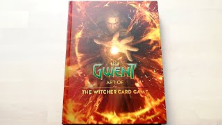 The Art of Gwent Artbook: The Witcher Card Game - All pages, full review [4K]