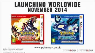 Pokemon Ruby and Sapphire Remakes Confirmed!: Omega Ruby and Alpha Sapphire!