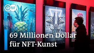 Digitale Kunst: Nächste Spekulationsblase? | DW Nachrichten