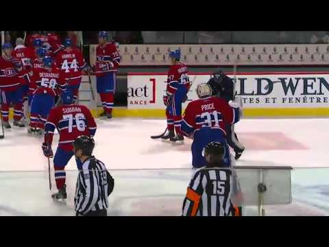 Max Pacioretty OT winner, scuffle ensues 1/8/11