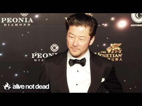 Asano Tadanobu 浅野 忠信 at the 11th Asian Film Awards Red Carpet