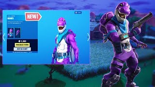 NEW Bronto Skin in Fortnite.... (New Favorite Skin in Season 10??!)