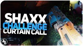 destiny shaxx challenge   44 curtain call shotgun