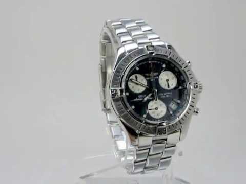 560f845f8931 Reloj Breitling Colt Chrono Ocean A53050 Cuarzo Men Brumat - YouTube
