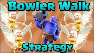 Clash Of Clans-Bowler Walk 3 Star Town Hall 11