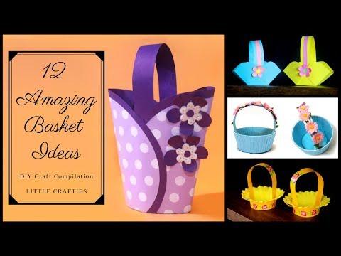 12 Amazing DIY Basket Ideas | Easter basket Ideas | Easter Baskets 2019